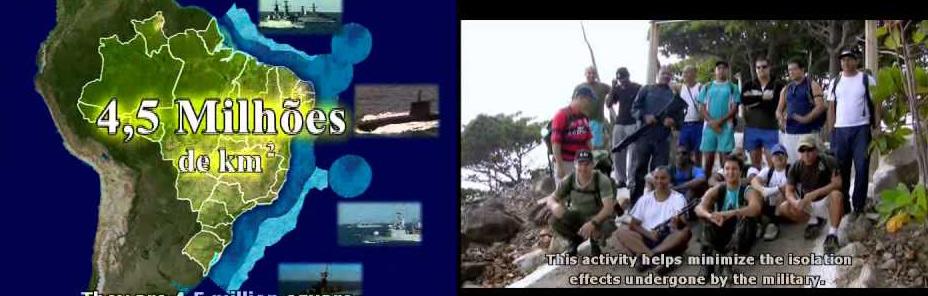 Vídeo Trindade e Amazônia Azul