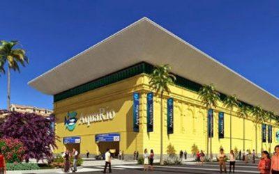 Colégio estadual Maria Emília do Amaral Fontoura visita o AquaRio
