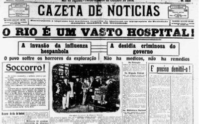 Centro Cultural do Movimento Escoteiro – CCME: a gripe espanhola e a atuação dos Escoteiros